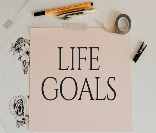 The Goals in Life (audio clip)